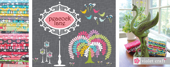 PEACOCK LANE by Violet Craft