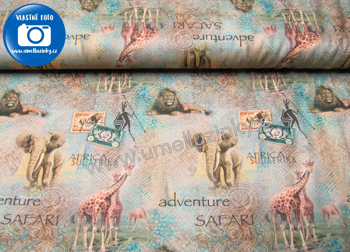 SPX Fabrics/African Safari - BAVLNA - Safari Adventure