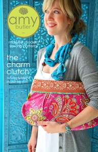 STŘIH - Amy Butler - The Charm Clutch