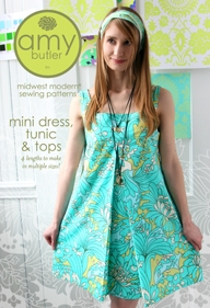 STŘIH - Amy Butler -Mini Dress, Tunic & Tops